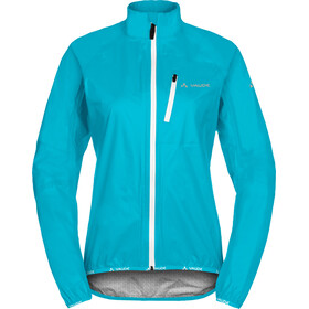 VAUDE Drop III Jacket Damen cyan